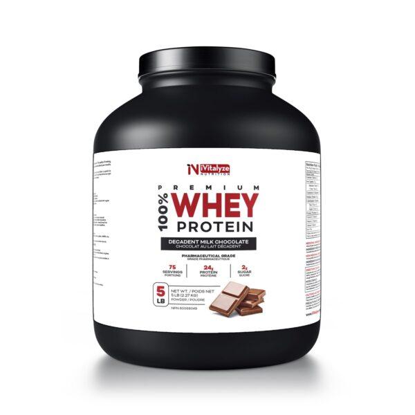 whey protein powder milk chocolate flavour