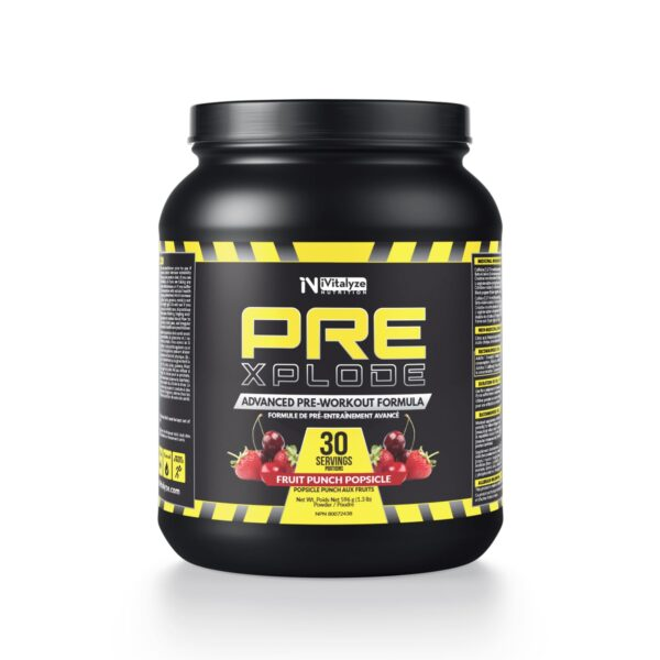 pre-workout fruit punch
